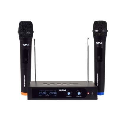 Doppio radiomicrofono palmare VHF