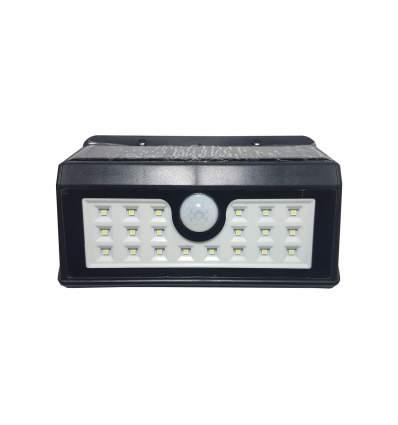Lampada LED Solare da parete con sensore crepuscolare e di movimento