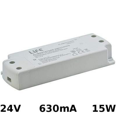 Alimentatore Switching 24V 630mA 15W