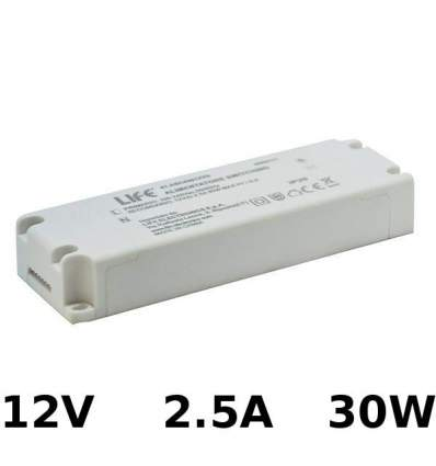 Alimentatore Switching 12V 2.5A 30W