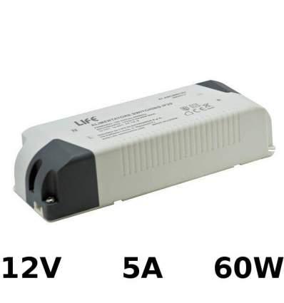 Alimentatore Switching 12V 5A 60W
