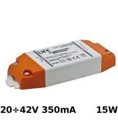 Transformatore Elettronico Corrente Costante 20÷42V 350mA 15W
