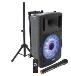 Diffusore amplificato con radiomicrofono 700W PMPO