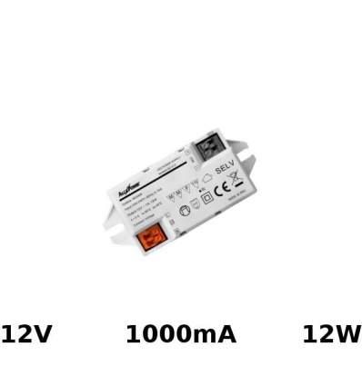 Alimentatore Switching 12V 1000mA 12W
