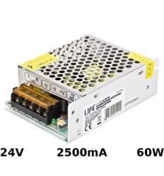 Alimentatore 24V 2.5A 60W con morsetti
