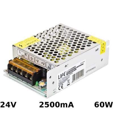 Alimentatore Switching 24V 2.5A 60W
