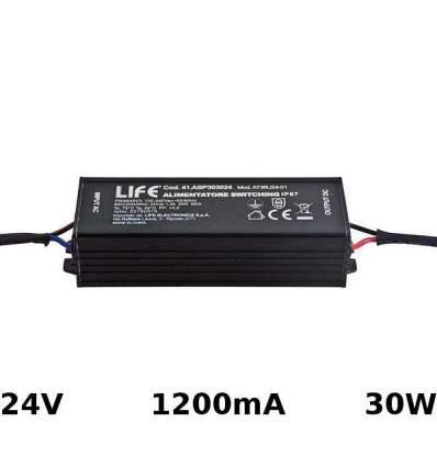 Alimentatore Switching 24V 1.2A 30W