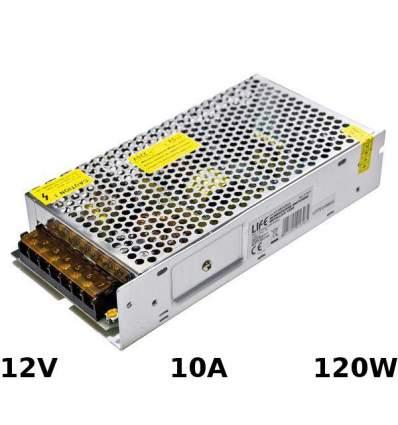 Alimentatore Switching 12V 10A 120W