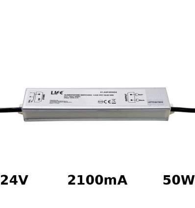 Alimentatore Switching 24V 2.1A 50W