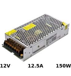Alimentatore di metallo 12V 12.5A 150W con morsetti