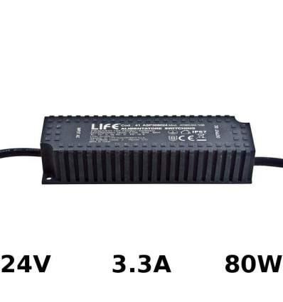 Alimentatore Switching 24V 3.3A 80W