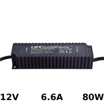 Alimentatore Switching 12V 6.6A 80W