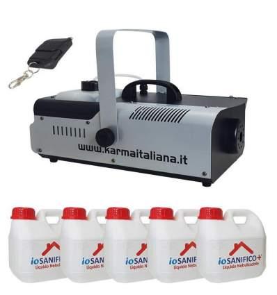 Nebulizzatore + 5lt liquido igienizzante