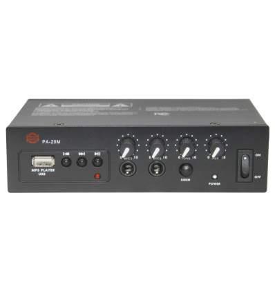 Amplificatore 12 V 20W con lettore MP3