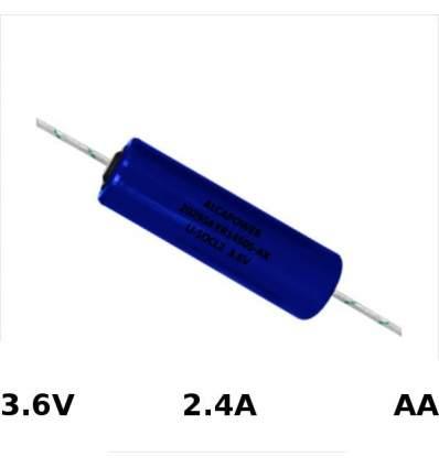 Pila Li-SOCL AA 3.6V 2400MAH + Reofori
