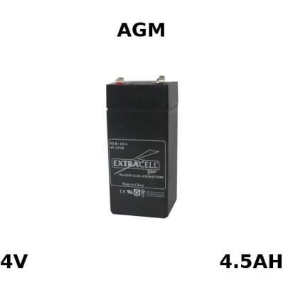 Batteria Piombo Ricaricabile 4V 4.5Ah