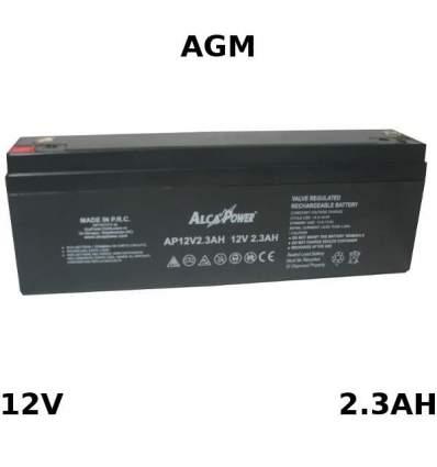 Batteria Piombo AGM 12V 2.3Ah