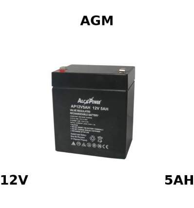 Batteria Piombo AGM 12V 5Ah