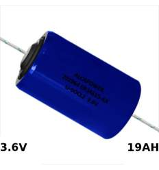 Pila D 3.6V 19000MAH Li-SOCL + Reofori
