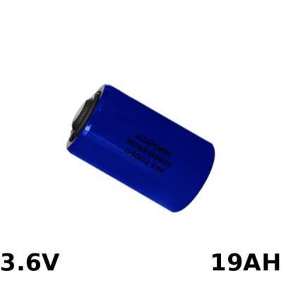 Pila Li-SOCL D 3.6V 19000MAH
