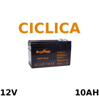 Batteria Piombo 12V 10Ah CICLICA