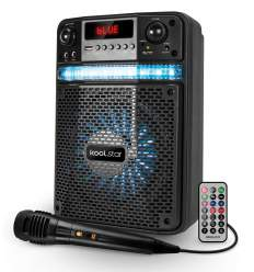 Diffusore amplificato con microfono