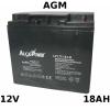 Batteria 12V 18Ah Piombo AGM
