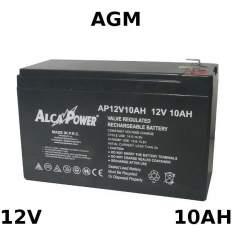 Batteria Piombo AGM 12V 10Ah