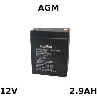 Batteria Piombo AGM 12V 2.9Ah