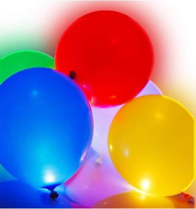 Confezione 5 palloncini a led