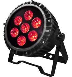 Illuminatore DMX a led.