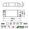 Alimentatore Switching 12V 11A 150W