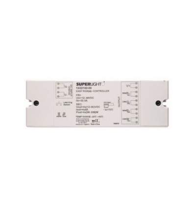 Controller a 4 Canali per Strisce a LED RGB o RGBW