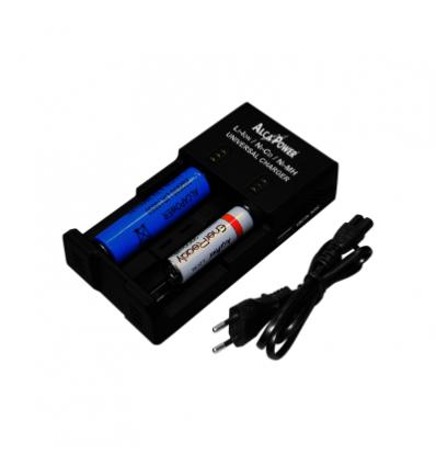Caricatore Universale per batterie Li-ion, Ni-Cd, Ni-MH
