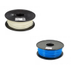 Filamenti per Stampanti 3D PLA 1kg Luminescenti - 3mm Vari Colori