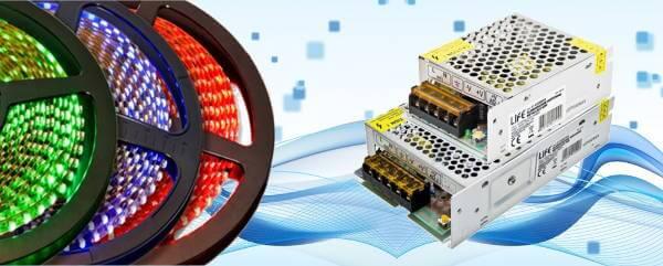 Alimentatori per LED e Videosorveglianza